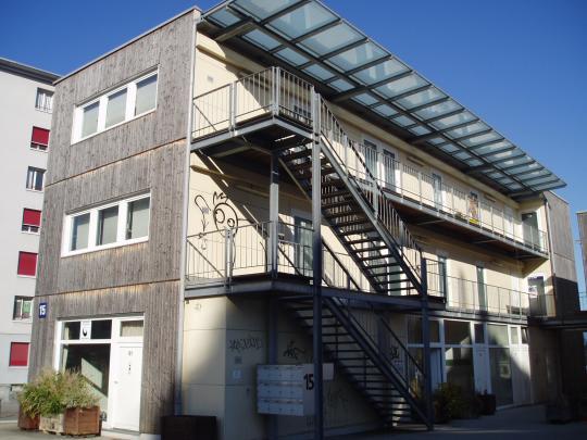 Coop rative renouveau de st jean bda beno t dubesset for Cout d un architecte