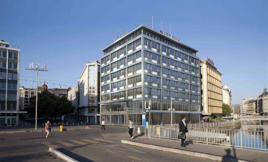 Place du rh ne 2 bda beno t dubesset architecte sa for Design hotel geneva rue ferrier 6